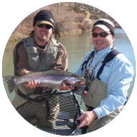 23 Inch Rainbow Trout on the San Juan River